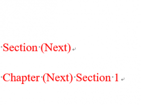 如何去掉Word中MathType生成的equation chapter/section 标记